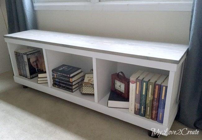 Diy Storage Bench Cabinet