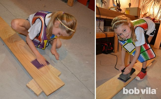 DIY Growth Chart - Step 1