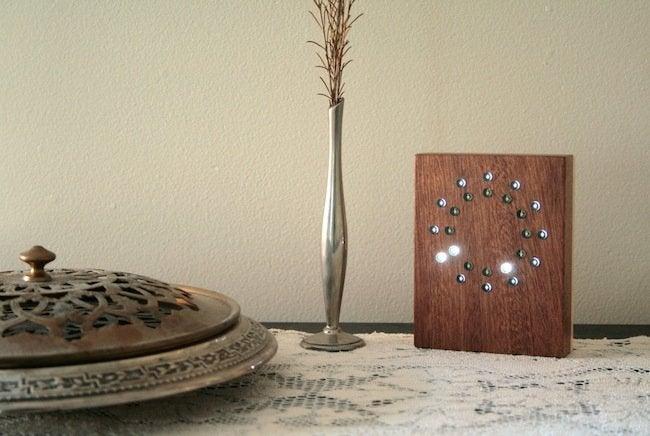 Tungsten Customs - LED Clock