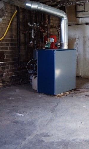 How to Choose a Boiler - Basement Unit