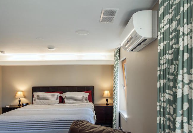 Zoned Cooling and Heating - Bedroom Unit