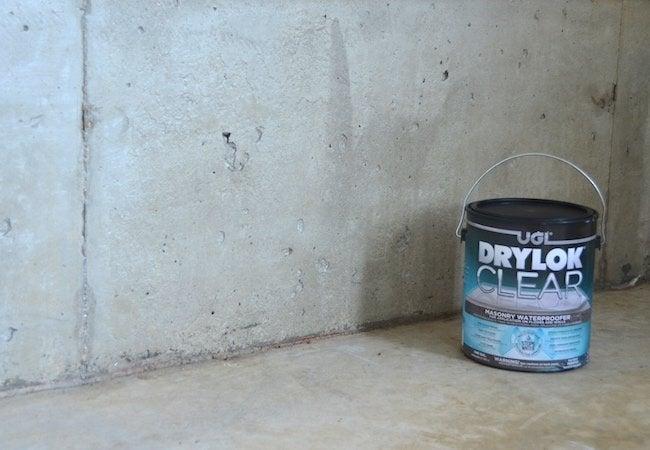 How To Use Masonry Waterproofer Drylok Product Isolated