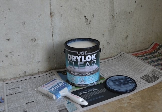 How to Use Masonry Waterproofer - Drylok Project Materials