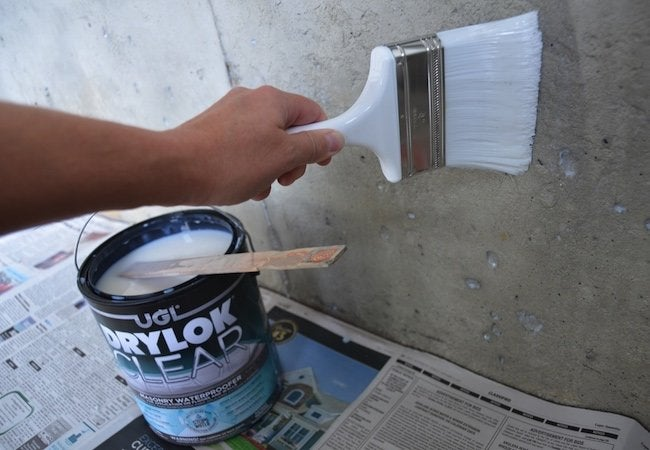 How To Use Masonry Waterproofer Treatment Lication