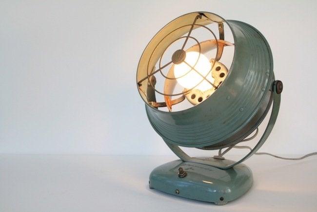 Tungsten Customs - Converted Fan Lamp
