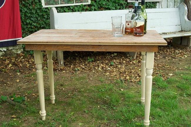 DIY Folding Table - Wooden Folding Table
