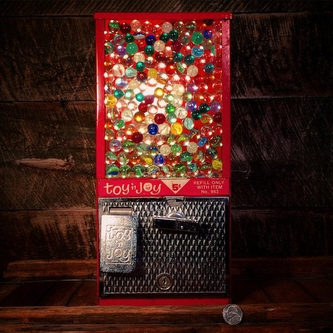 Stonehill Design - Gumball Machine Lamp