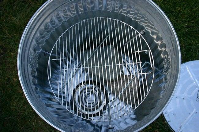 Genius! The Trash Can Turkey Smoker