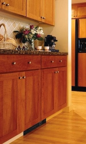 Ordinaire Kickspace Heaters   Wood Kitchen Unit