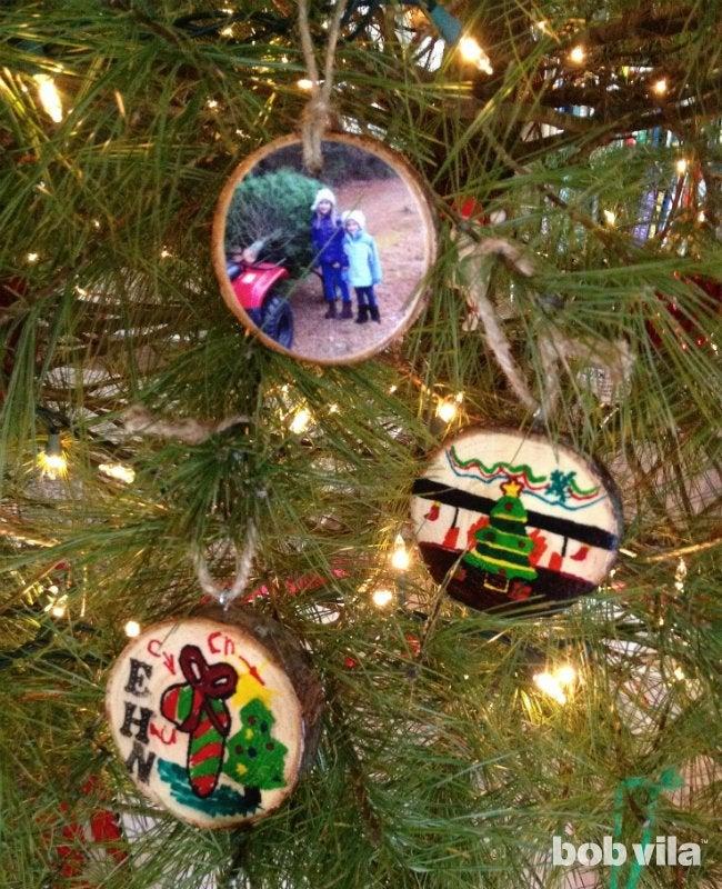 DIY Ornaments - Homemade Christmas Tree Ornaments