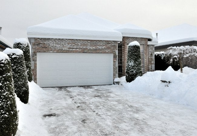 How to Remove Ice from Driveway - Snow-Cleared Driveway