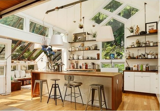 Open Shelving Kitchen - Modern Style