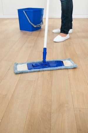 How To Mop A Floor The Right Way Bob Vila - How to clean pvc flooring