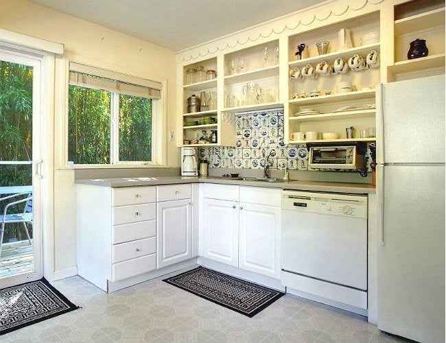 Open Shelving Kitchen - Remove Cabinet Doors