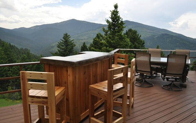 DIY Bar Stools - Wooden Design
