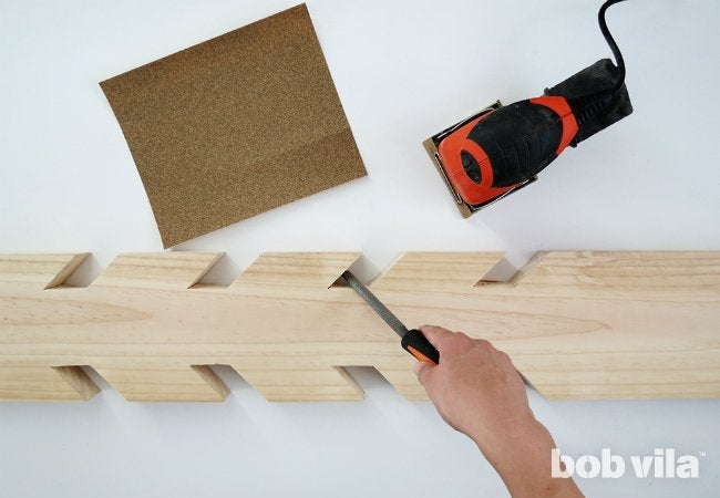 DIY Coat Rack DIY Lite Bob Vila Beauteous Making A Coat Rack