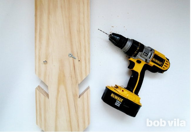 DIY Coat Rack - Step 7