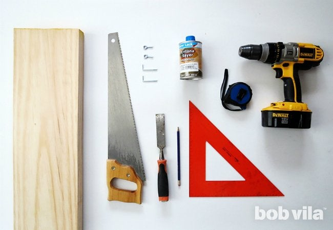 DIY Coat Rack - Supplies