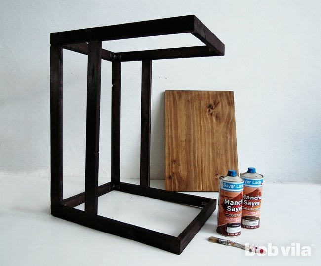 DIY Side Table - Step 10