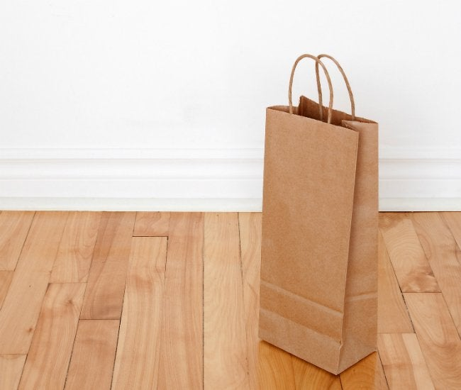 Paper Bag Flooring - How to Refinish Your Floors with Brown Paper Bags