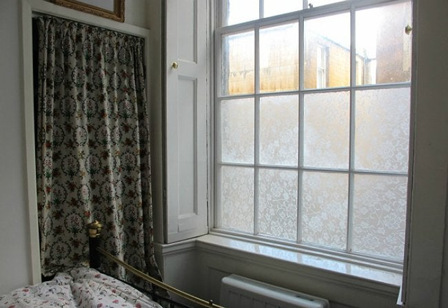 diy window film genius bob vila. Black Bedroom Furniture Sets. Home Design Ideas