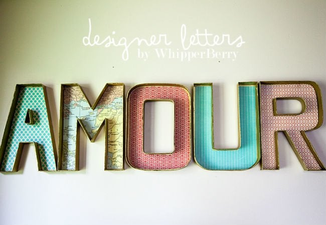 marquee letters - open