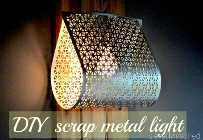 metal sheet light - open