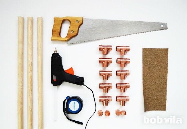 DIY Blanket Ladder - Supplies