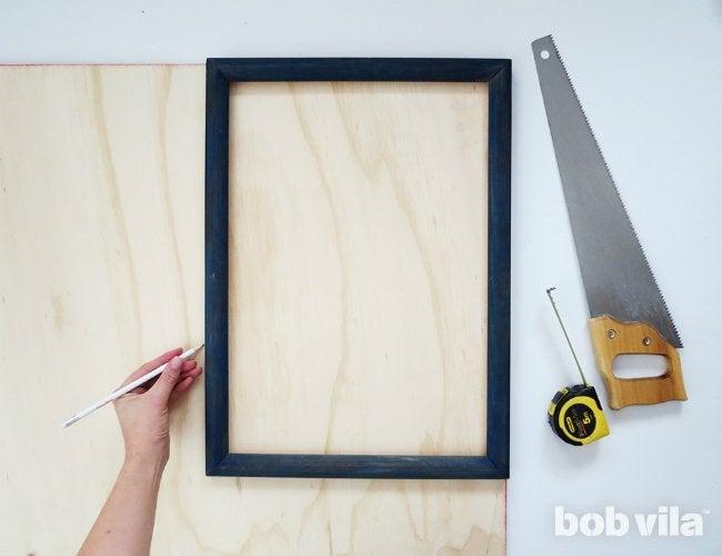 diy shadow box step 1 - Diy Shadow Box Frame