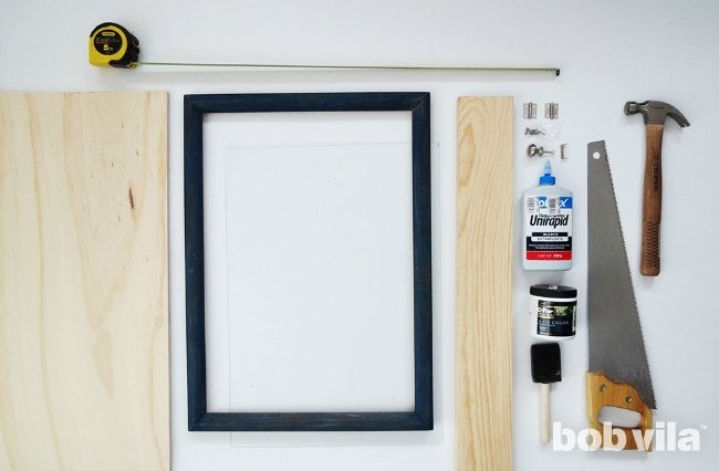 DIY Shadow Box - Bob Vila