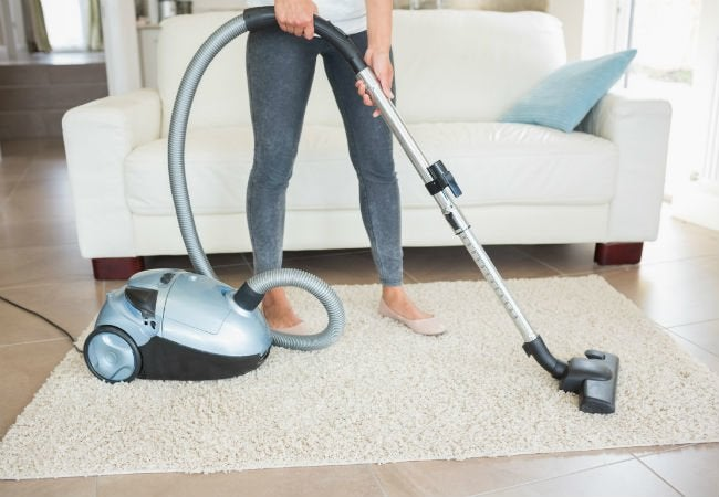How to Clean a Wool Rug - vacuum