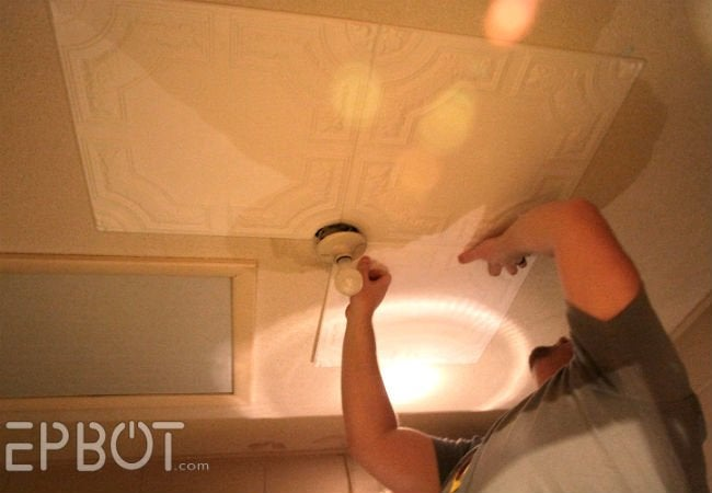 How to Remove Popcorn Ceilings - Tile