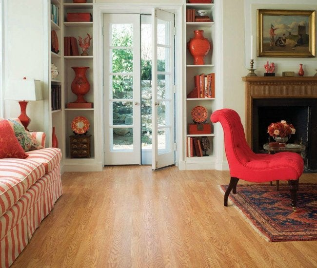 Laminate vs Hardwood - Laminate Flooring from Home Depot