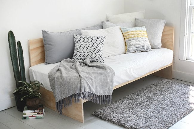 Diy Daybed Made From Plywood
