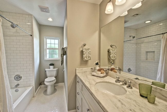 Best Tile For Small Bathroom tiling a small bathroom - dos and don'ts - bob vila