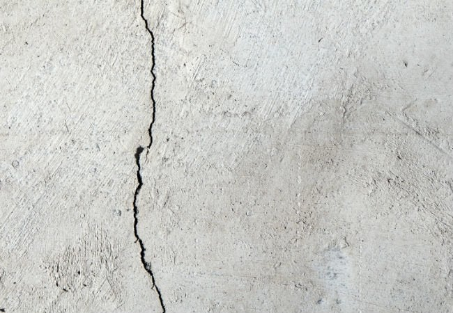 Cracked Concrete - Foundation