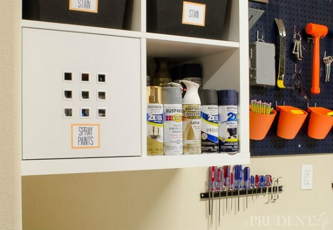 DIY Garage Shelves   IKEA