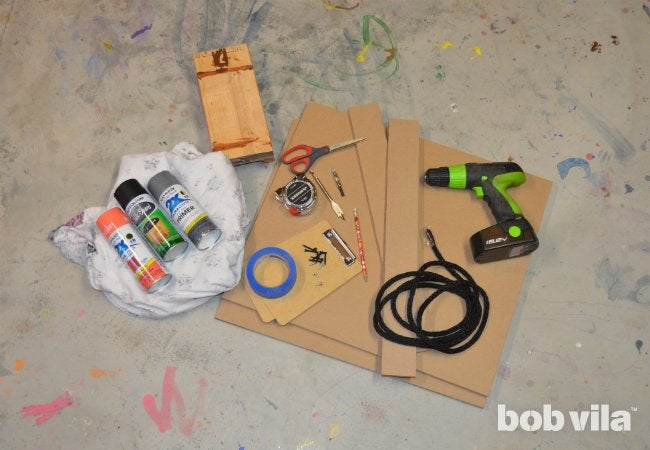 DIY Easel - Supplies