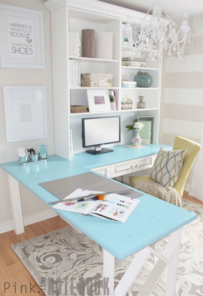 Bob Vila Thumbs Desk Makeover 3