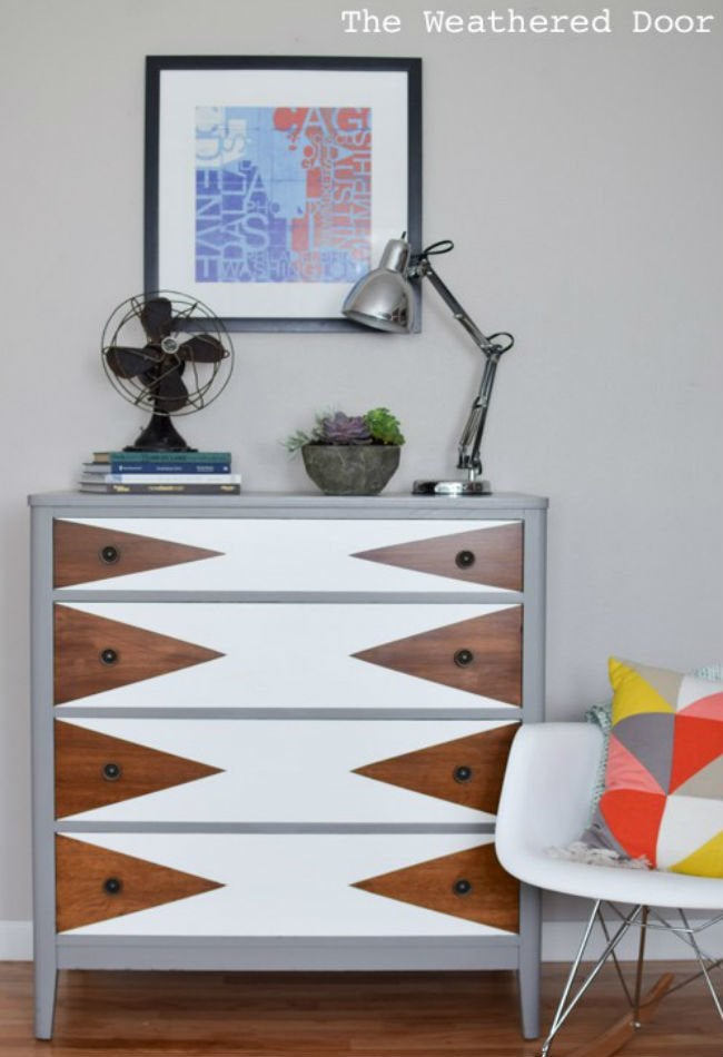 Bob Vila Thums Up Triangle Dresser 1