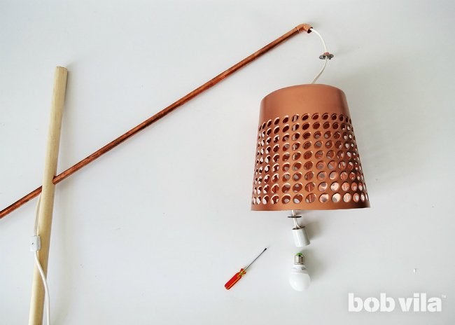 DIY Floor Lamp - Step 16