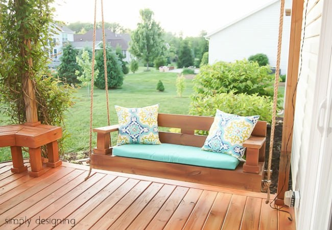 porch swing 1