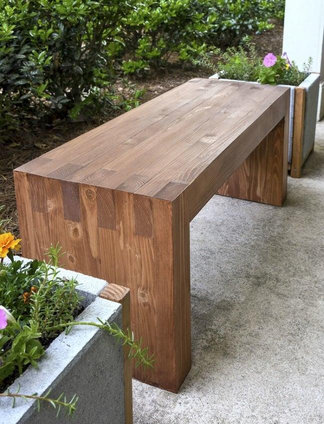 wood bench 3
