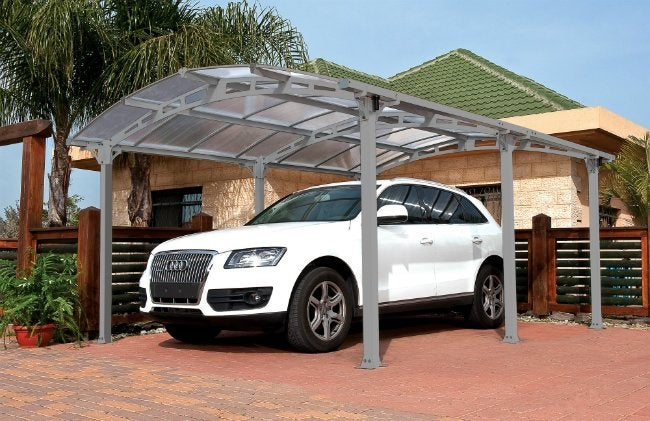 Building a Carport - Palram Carport Kit from Wayfair