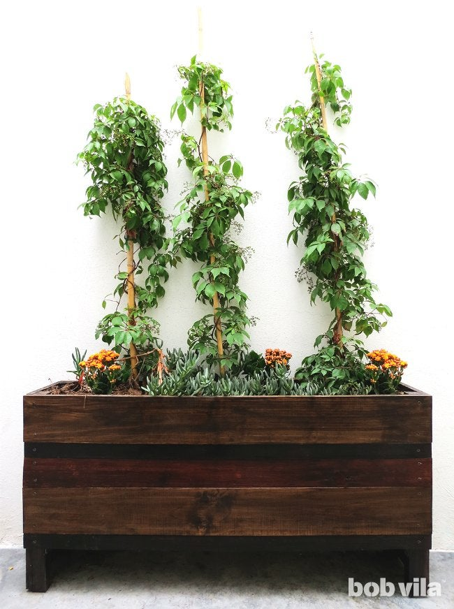 DIY Planter Box - How to Build a Planter Box