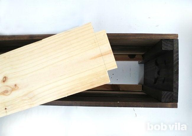 DIY Planter Box - Step 6