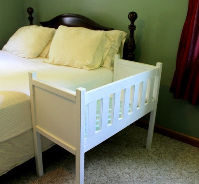 DIY Crib - Co-Sleeper from Rebecca's Garden and Homestead