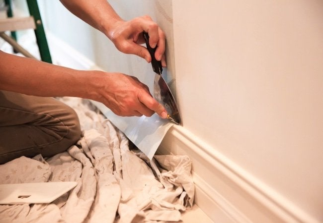 How To Remove Paint From Trim And Molding Bob Vila