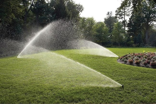 Best DIY In-Ground Lawn Sprinkler: Rain Bird In-Ground Automatic Sprinkler System