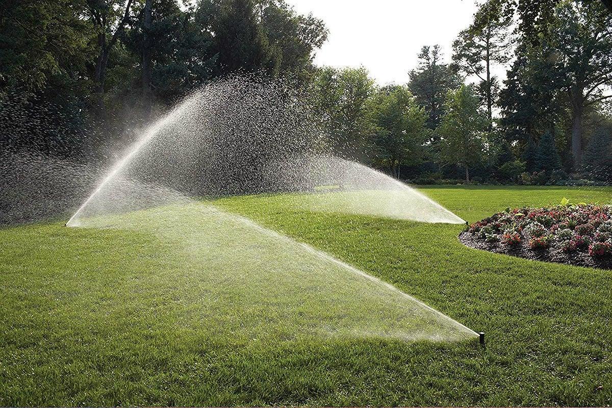 Best DIY In-Ground Lawn Sprinkler: Rain Bird In-Ground Automatic Sprinkler System